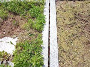 石川県 金沢市 お墓掃除 お参り 代行 キリコ掛け支柱設置